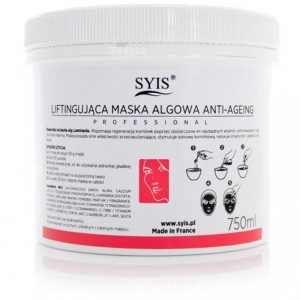 SYIS MASKA ALGOWA LIFTINGUJĄCA ANTI-AGEING 750ML/250G