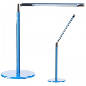 LAMPA LED NA BIURKO ULTRA SLIM BLUE
